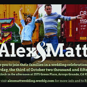 Alexandra & Matthew Wedding Registry