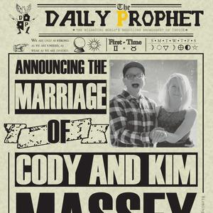 Cody & Kim Wedding Registry