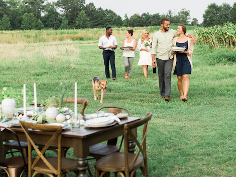 Style Profile: Warm Rustic on Zola Wedding Registry