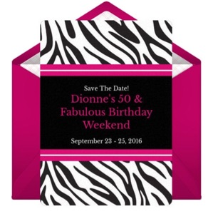 Dionne's 5Oth BIRTHDAY Wedding Registry