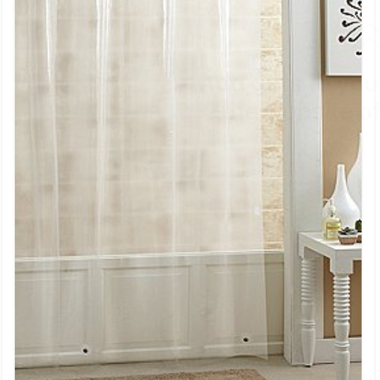 Noble Excellence 72 Heavy Weight Peva Shower Curtain Liner