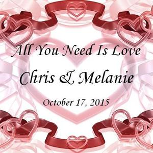 melanie & chris Wedding Registry