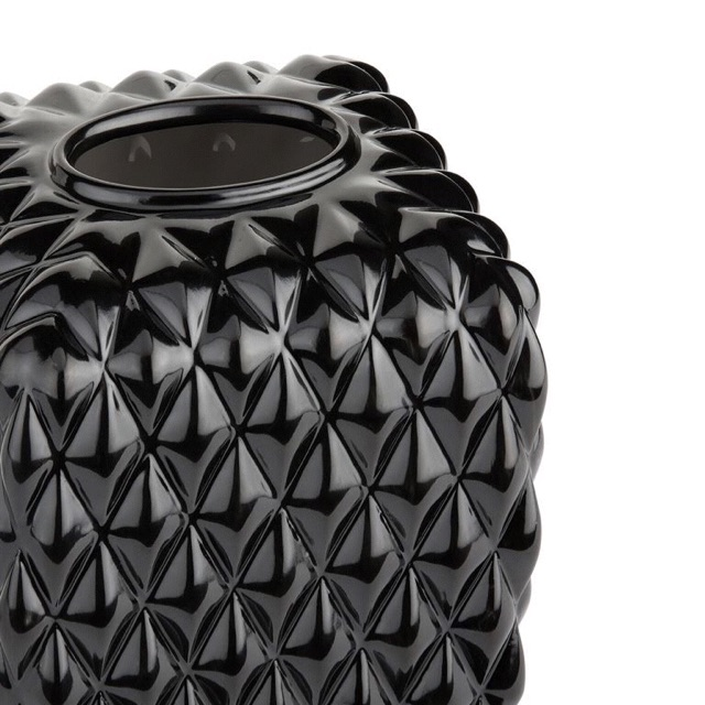 Villari black tie tissue box
